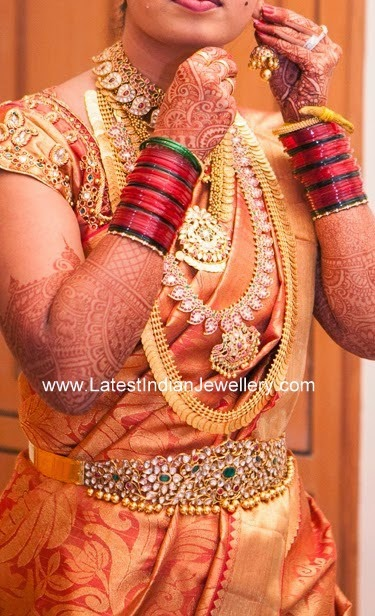 Classic South Indian Bridal Jewellery