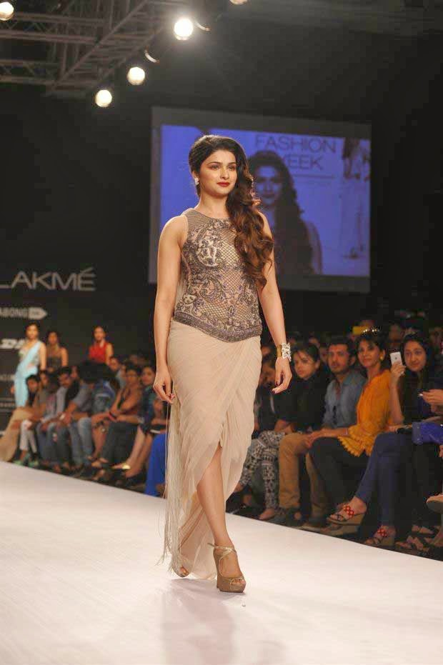 Prachi Desai at Lakme Fashion Week Summer/Resort 2014
