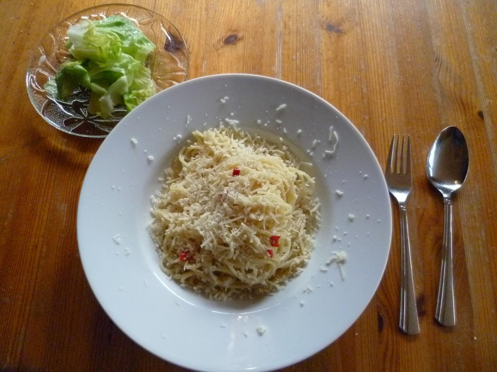 Schnell lecker kochen und mehr spaghetti aglio olio for Schnell lecker kochen