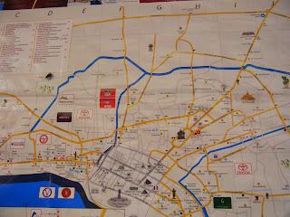vientiane tourist map
