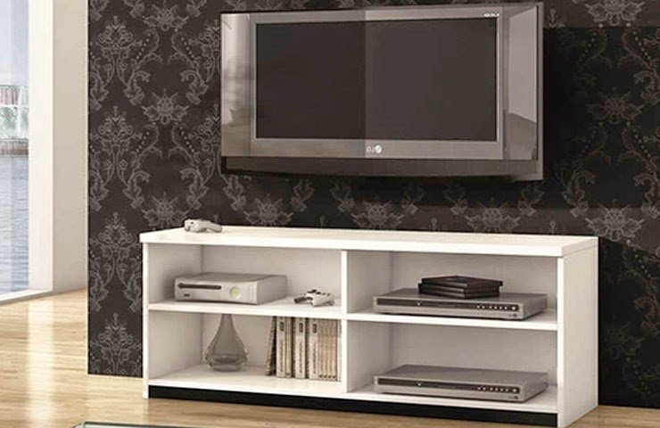 Wall beds ecuador mueble tv blanco de dise o minimalista for Mueble tv minimalista