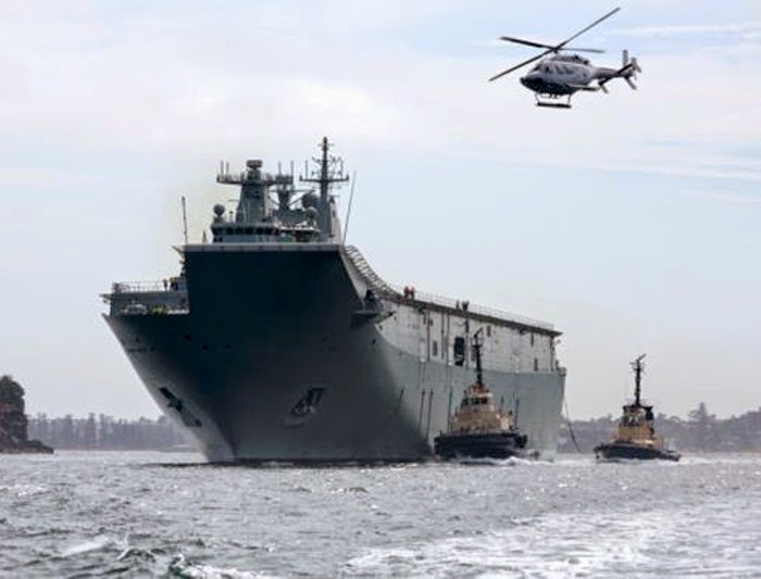 HMAS Canberra III (L02) Landing Helicopter Dock