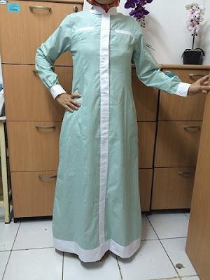 Model Gamis Katun Muslimah Modern Terbaru 2016