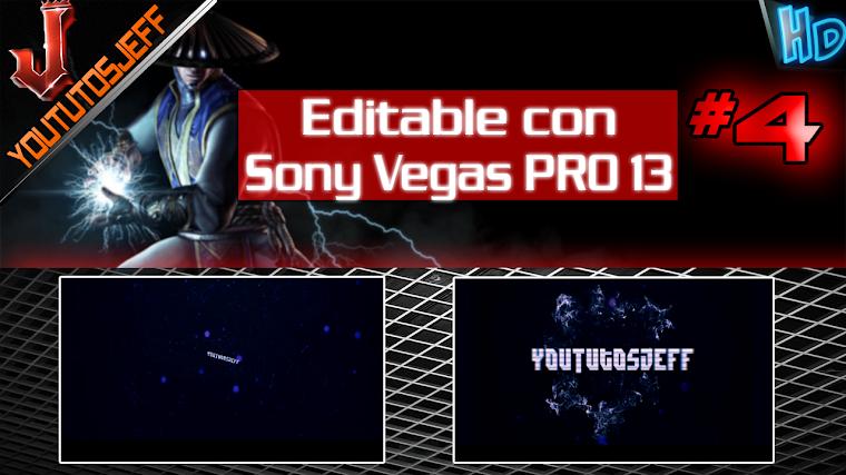 Intro Editable#4 con Sony Vegas PRO 13 | 2016