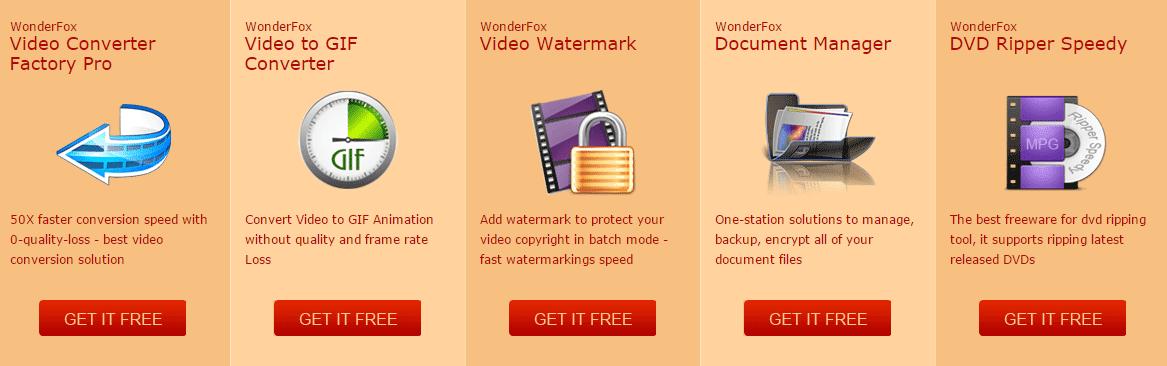 Dapatkan 7 Software dari WonderFox Secara Gratis dan Legal