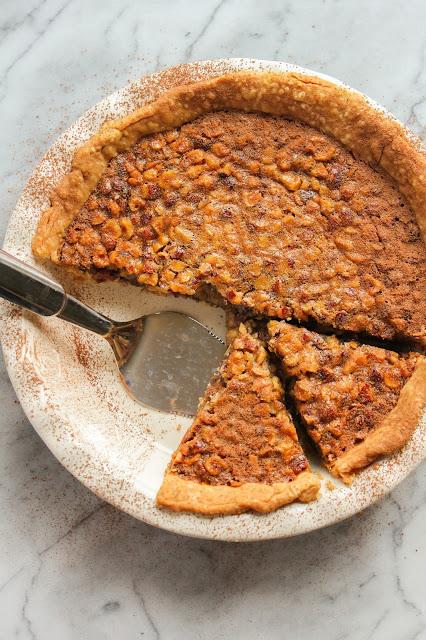 Milk Chocolate Hazelnut Pie | The Chef Next Door