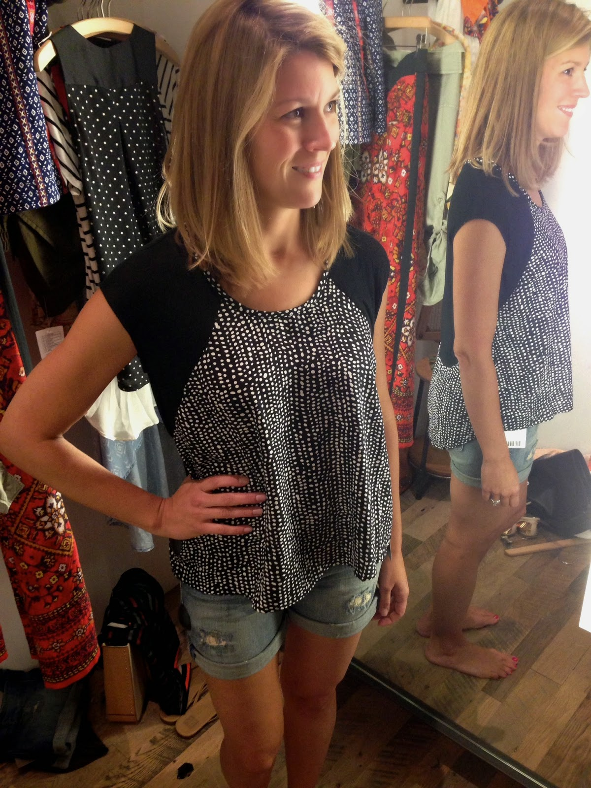 Anthropologie, Black and White, Transition, Summer, Fall, Shopping