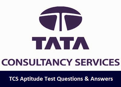 TCS Aptitude Test Questions and Answers