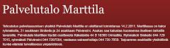Palvelutalo Marttilan blogiin!