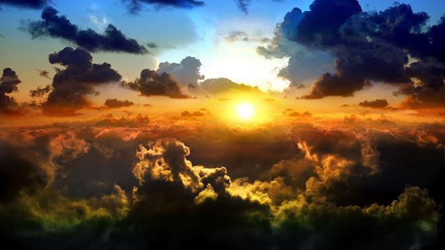 Sky Sunset Clouds HD Wallpaper