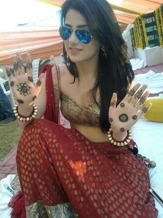 hot navel saree