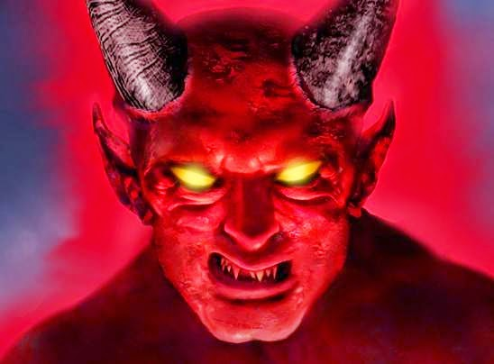 Others also believe that he is a supernatural entity that has a Horns evil eyes fiery red or has a forked tongue, or a long tail and horns with a goat's ...