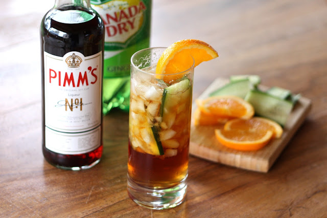 The Pimm's Cup recipe by Barefeet In The Kitchen