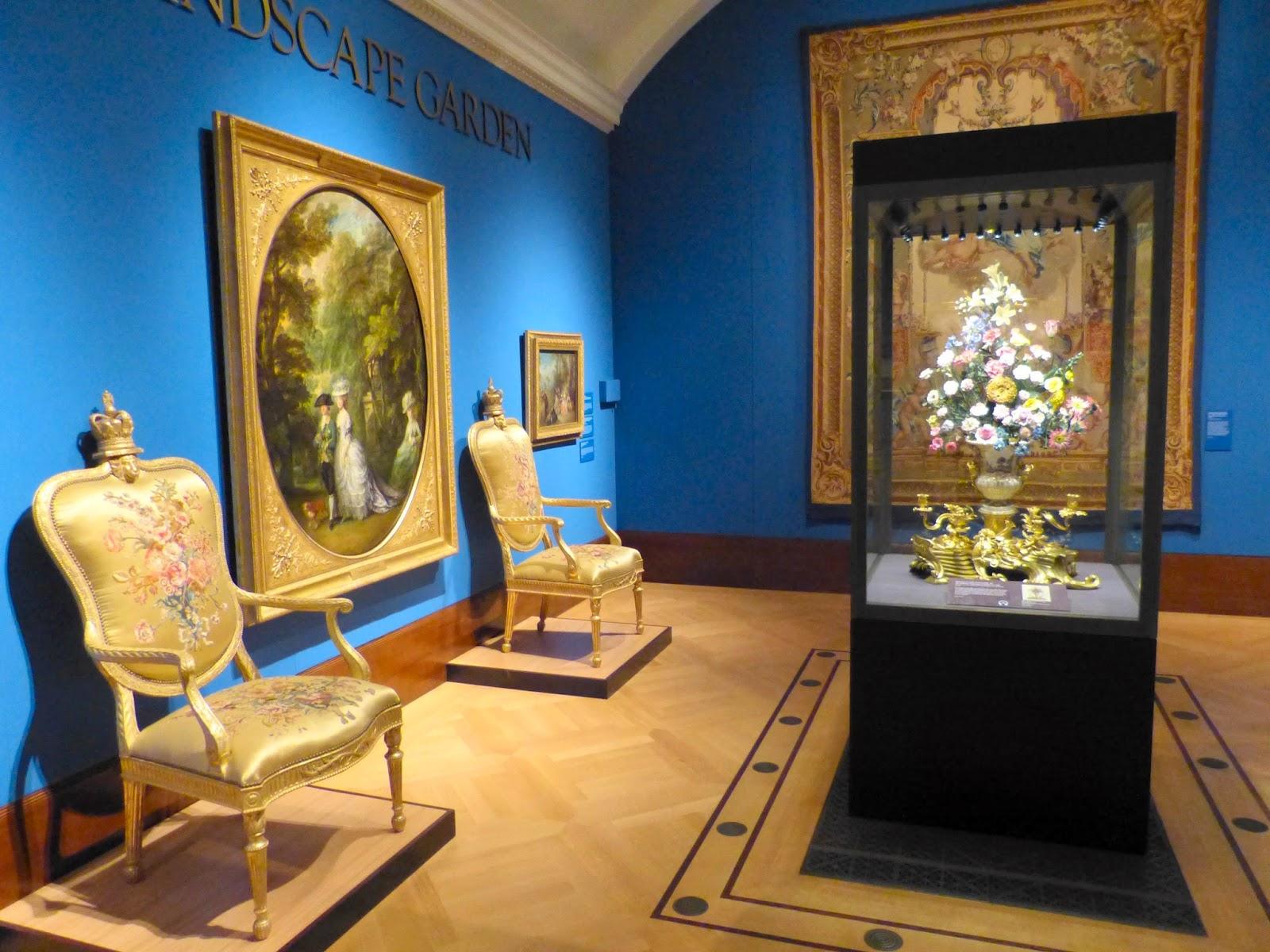 The fiirst Landscape Garden exhibition room