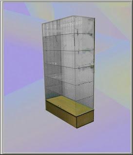 Фото торговая витрина стекло
