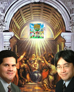 animal crossing saint nintendo