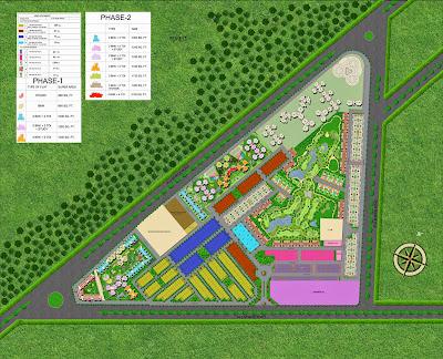 Golf Country, Yamuna Expressway :: Site Plan