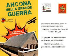 Ancona 13 Giugno 2015 Ciclo Conferenze sulla I Guerra Mondiaele
