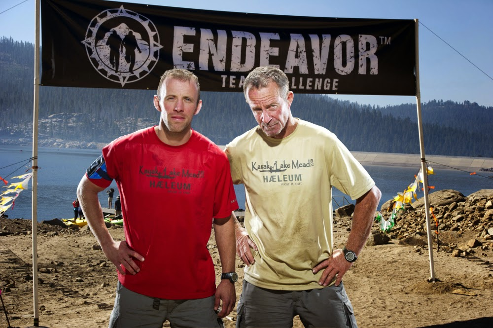 Team Endeavor Challenge 2013 - The Finish, Ryan Ross, Robert Finlay