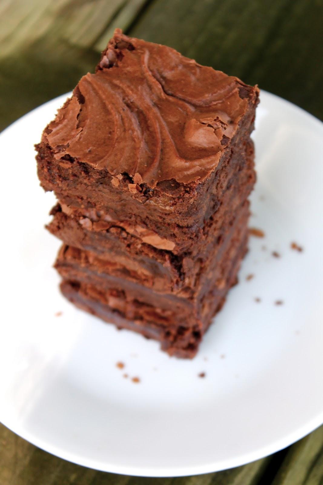 Yammie's Noshery: The Best Fudge Brownies