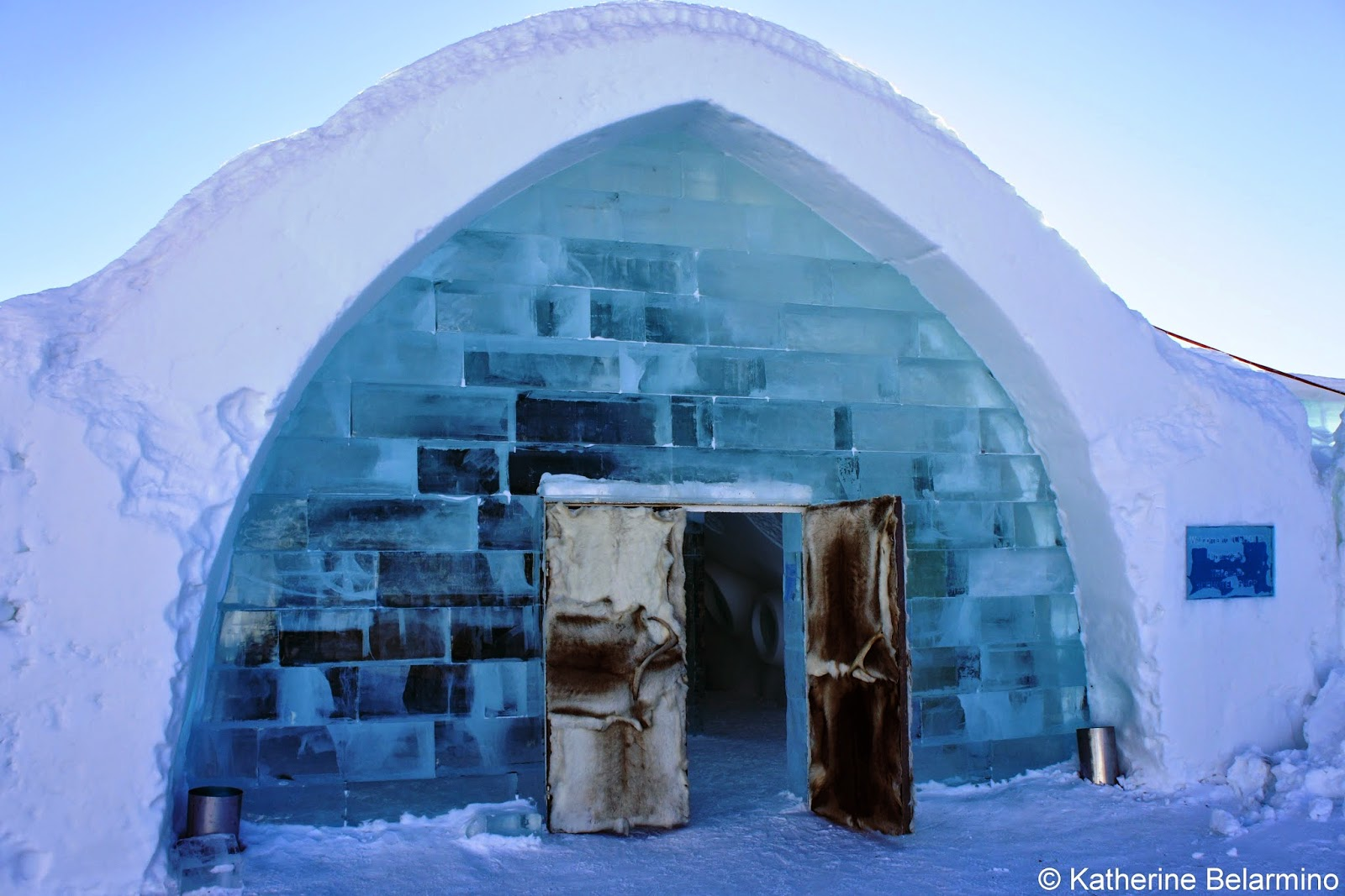 what it s like to stay in sweden s icehotel travel the world. Black Bedroom Furniture Sets. Home Design Ideas