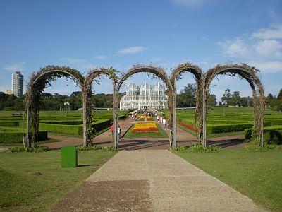 Turismo em Curitiba )Parques e Praças de Curitiba)