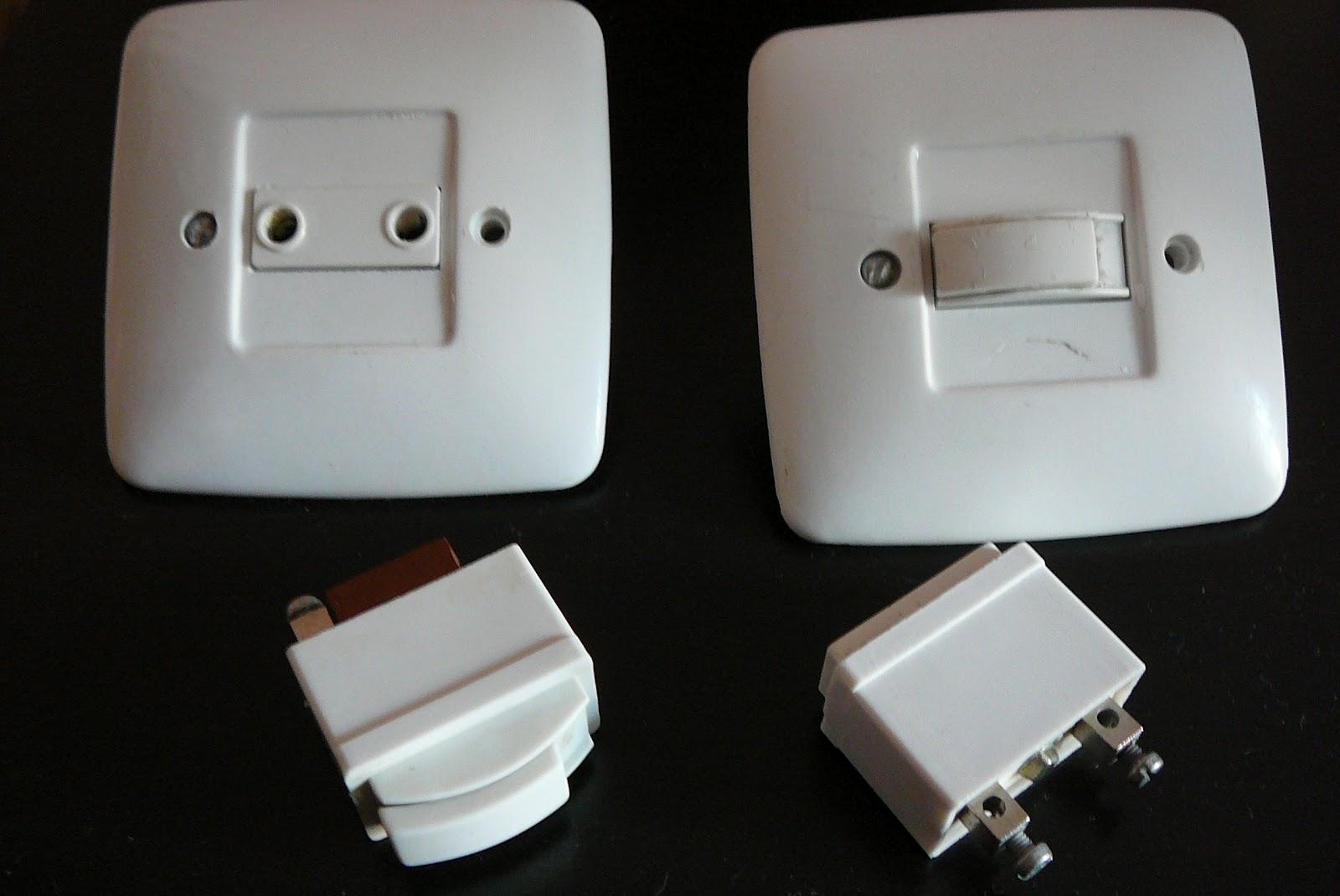 Antig edades urbanas mecanismos el ctricos i - Tipos de interruptores de luz ...