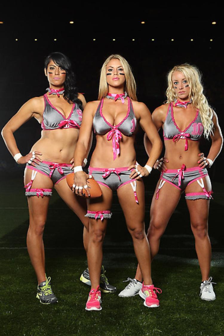 голые девушки из американского футбола