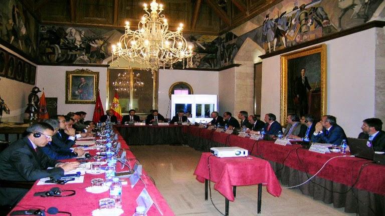 la comisión mixta hispano-marroquí de Protección Civil