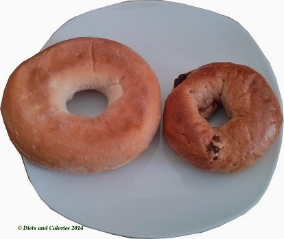 New York Bakery Mini Bagel and regular bagel