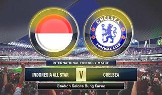 Prediksi Indonesia All Star vs Chelsea 25 Juli 2013