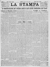 LA STAMPA 29 MARZO 1926