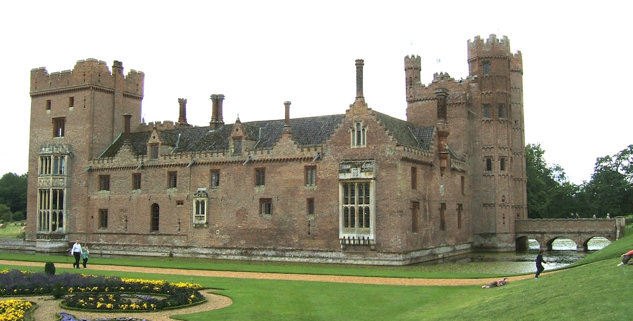 Eclectica Oxburgh Hall A Moated Manor House