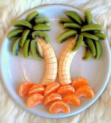 tallado de fruta