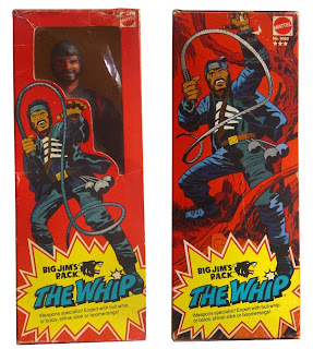 Mattel's Big Jim PACK The Whip figure