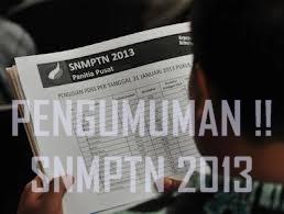 Hasil Seleksi SNMPTN 2013