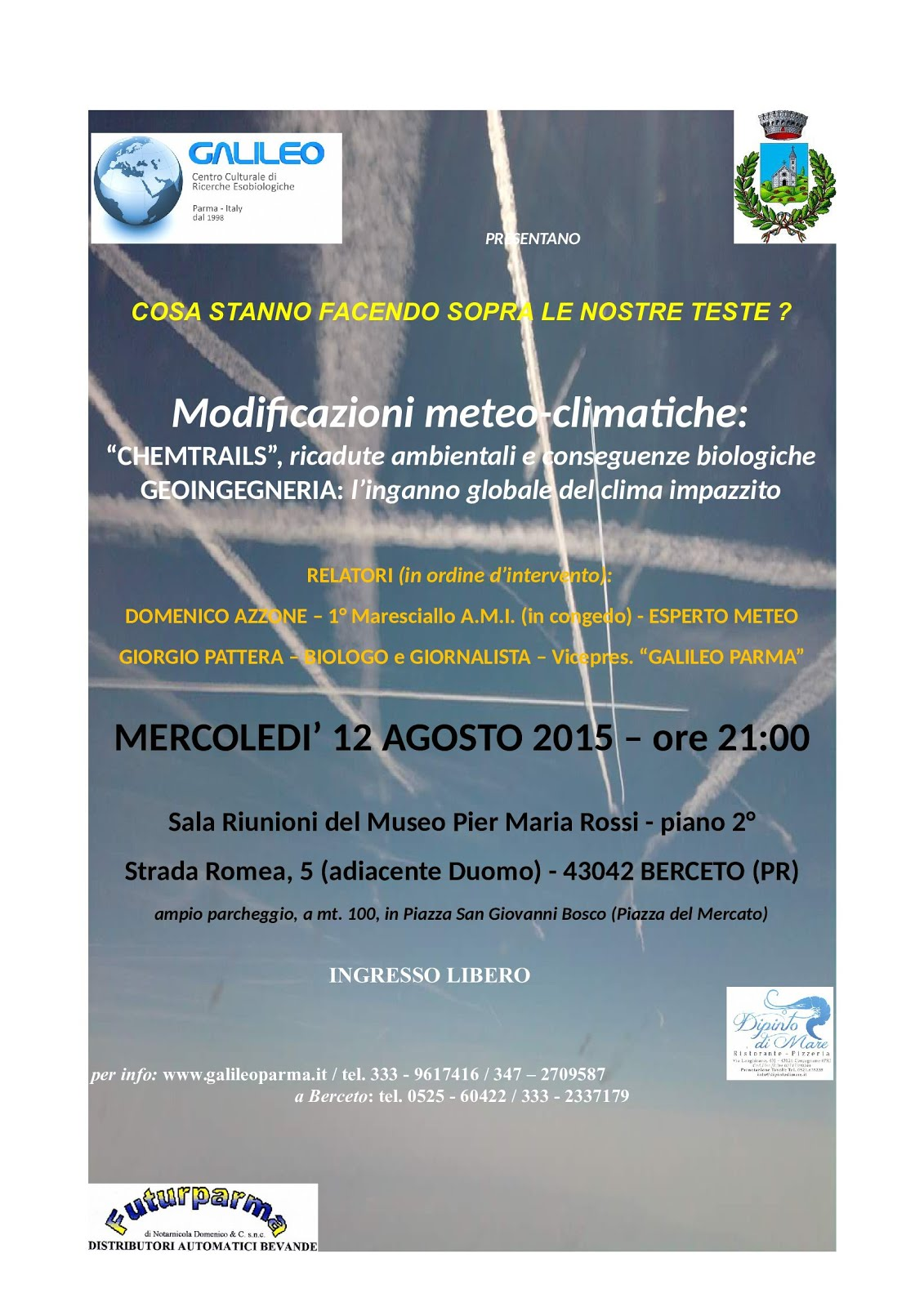 MODIFICAZIONI METEO-CLIMATICHE