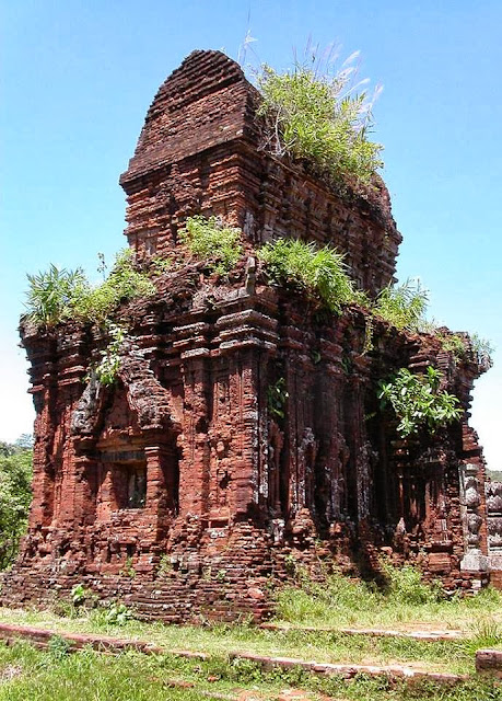 Ancient Shiva temple of 4th century in Vietnam