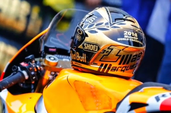 Marquez Rebut Juara Dunia, Lorenzo Finis Pertama, Rossi Finis ke Tiga