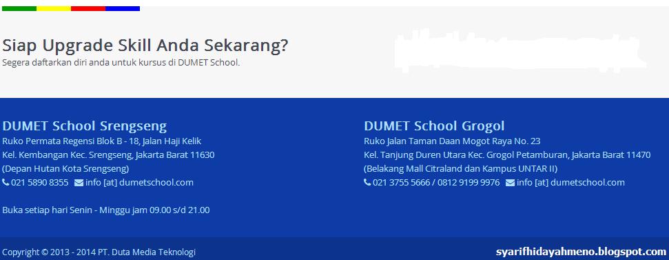 DumetSchool Kontak