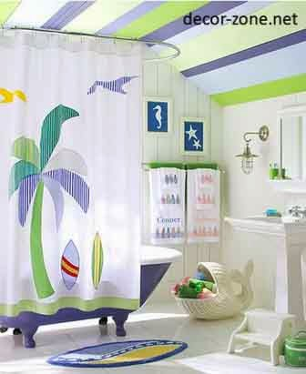 Bathroom Curtains Bathroom Mat Bathroom Ceiling Bathroom Decorating Ideas In Sea Style