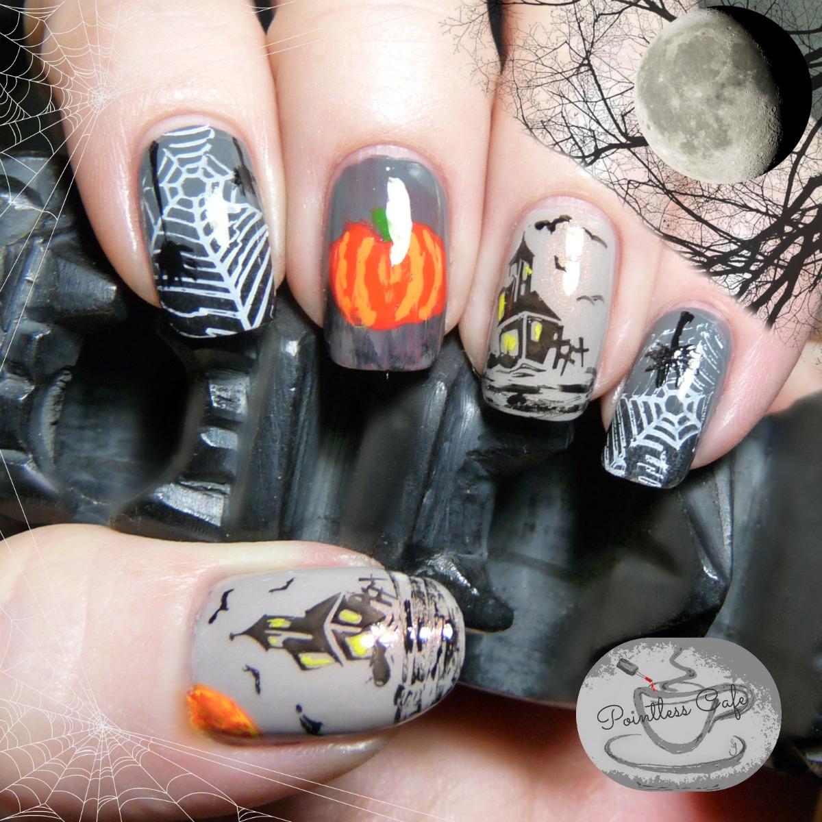 Halloween Nail Art: Halloween Nail Art