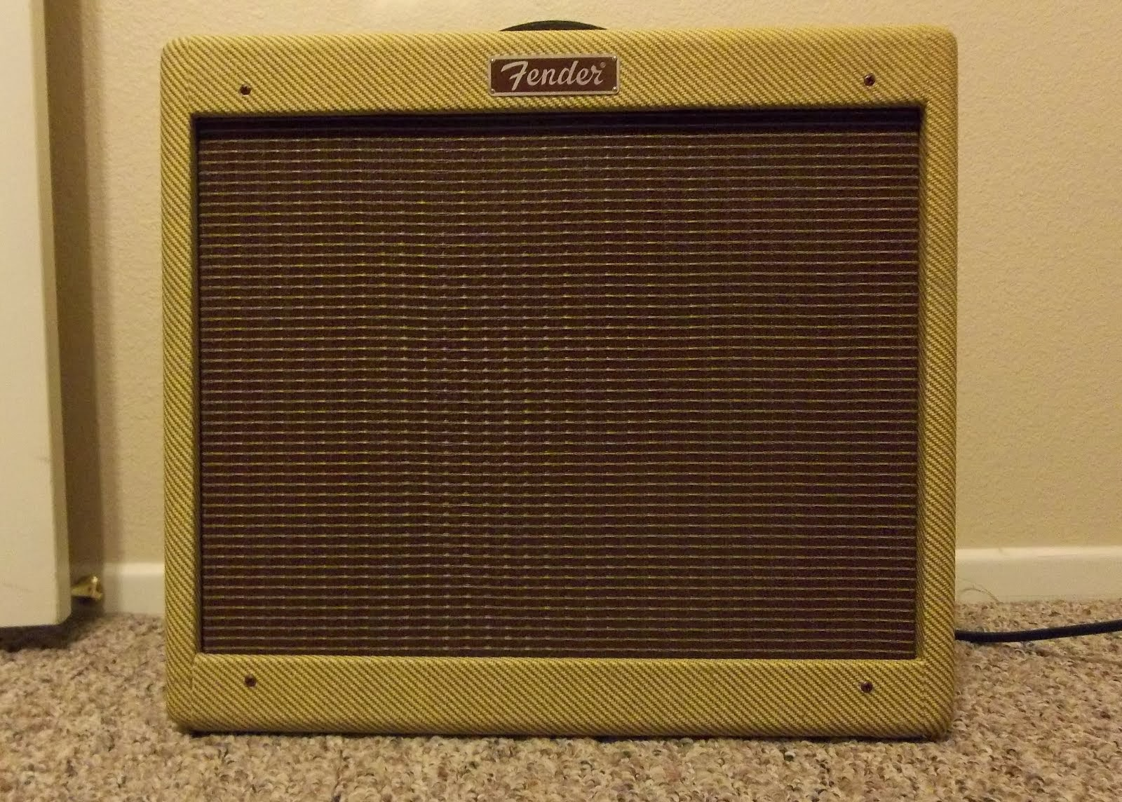 Fender Blues Jr NOS (Tweed Version)