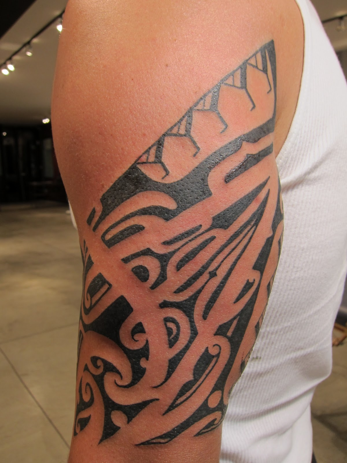 History of polynesian tattoos slodive tattoos for Polynesian tattoo designs