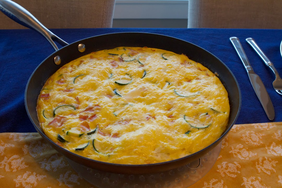 Potato and Red-Pepper Frittata recipe: