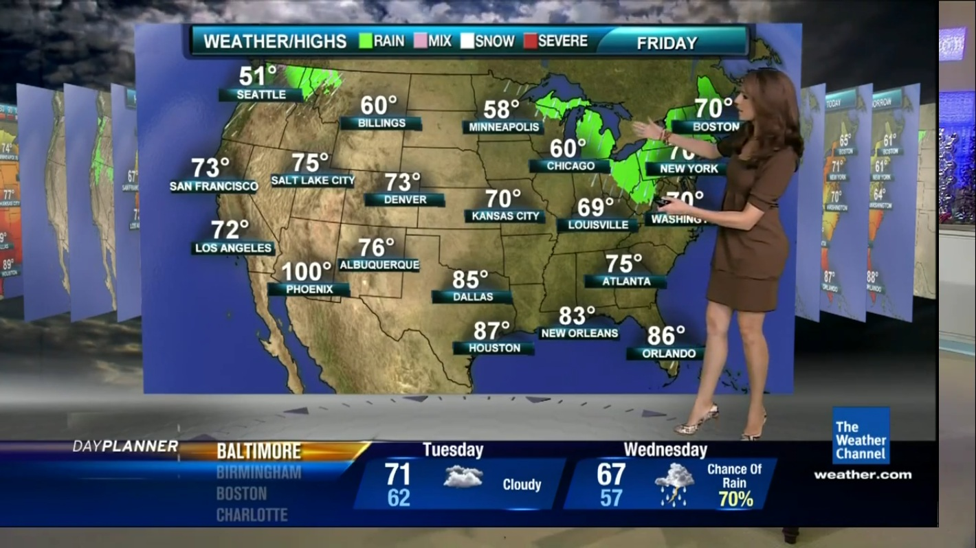 your weather channel blogspot   maria larosa caps   the