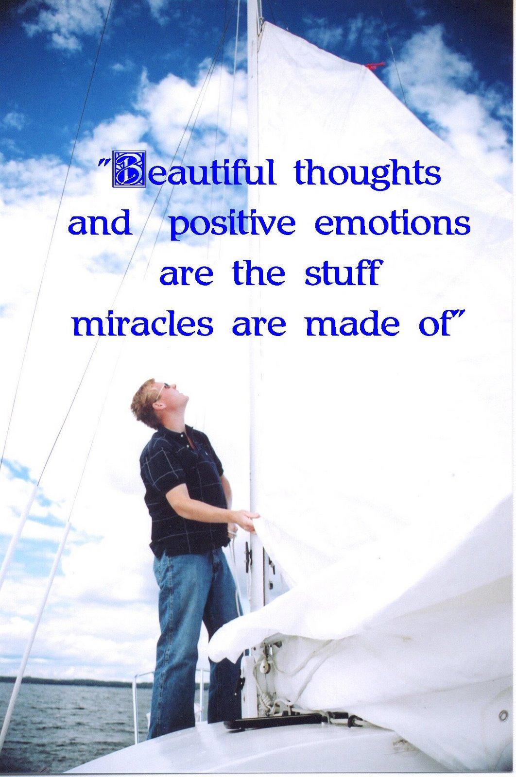 Positive thinking daily calendar
