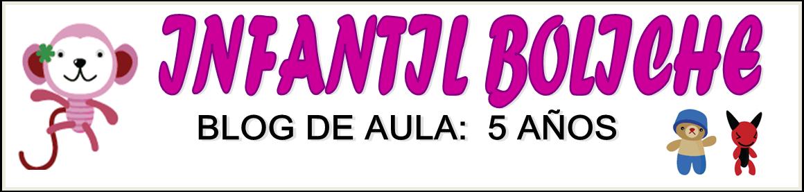 BLOG DE AULA CINCO AÑOS BOLICHE
