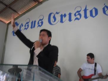Cantor Claudiel Santos - Intercâmbio Jovem 27/11