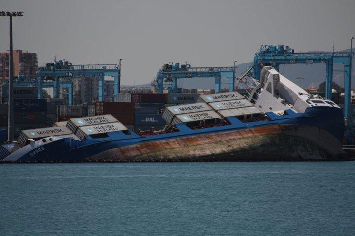estado de la mar en algeciras: